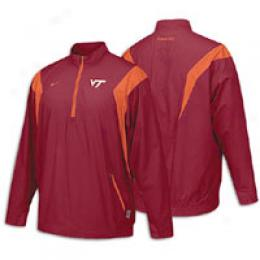 Nike Mens' Bubble Scrn Nikefit 1/4 Zip Jckt