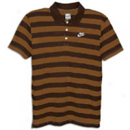 Nike Men's Dri-fit Crested Stri0e Polo