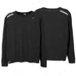 Nike Men's Dri-fit Uv Long Sleeve Tee