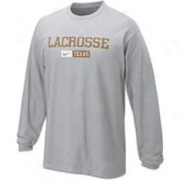 Nike Men's Lacrosse Ls Performance Tee