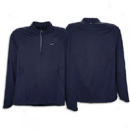 Nike Men's Lightweight Brushed Halfzip
