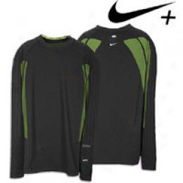 Nike Mens + L/s Seamless Crew