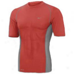 Nike Men's Pro Max Tight Ss Crew