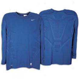 Nike Men's Pro Ultimate Ls Fitted Crew