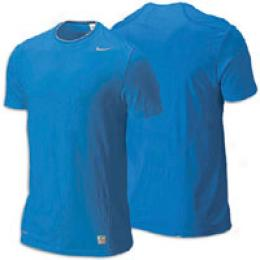 Nike Men's Pro Ultimate Ss Fitted Crew