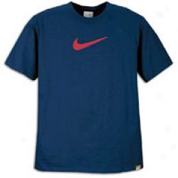 Nike Men's Suede Swoosh Tee