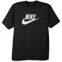 Nike Men's White Futura Tee