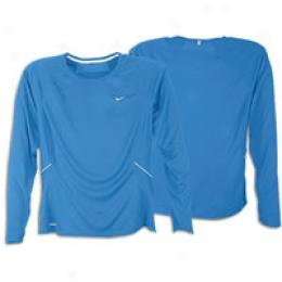 Nike Women's Dri-fit L/s Compliant Hand Baselayer