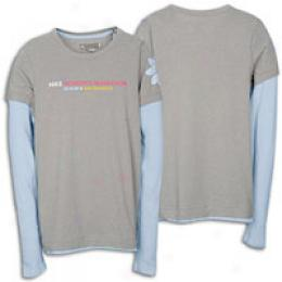 Nike Women's Marathon Thermal Double L/s Tee