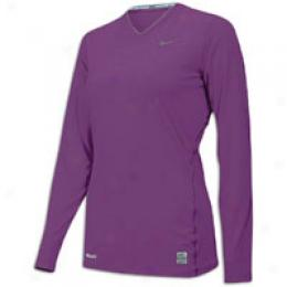 Nike Women's Pro Fitted L/s Top