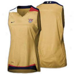 Nike Women's Usa Replica Slvls Game Day Jersey
