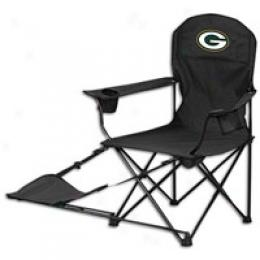 North Pole Nfl Arm Chair W/ Footrest