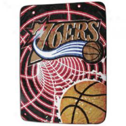 Northwest Nba Royal Plush Raschel Blanket