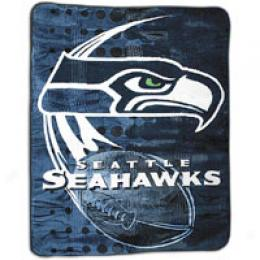 Northwest Nfl Royal Plush Raschel Blanket