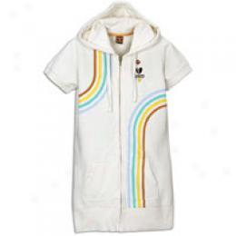 Paul Frank Women's Track Stripe Zip Hoody