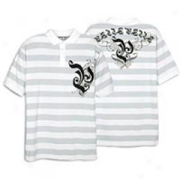 Pelle Pelle Men's S/s Argyle Stripe Polo