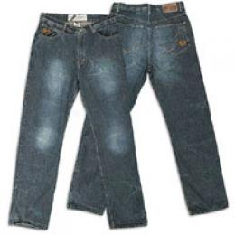 Phat Farm Men's Back Pocket Stitch Jean