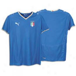 Puma Men's Italia Home Replica Shirt