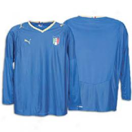 Puma Men's Itwlia Home Replica L/s Shirt