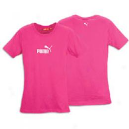 Puma Women's Wm #1 Logo Sheer Tee