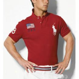 Ralph Lauren Polo Men's Beijing Player Mesh Polo