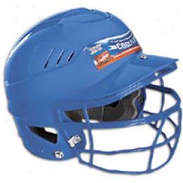 Rawlings Men's Coolflo Batting Helmet W/ Facemask