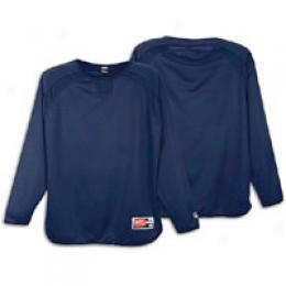 Rawlings Men's Flatback Mesh Fleece Pullover