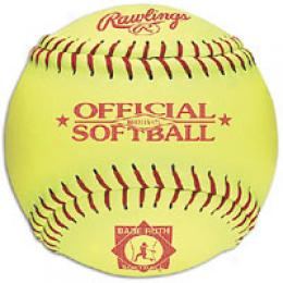 Rawlings Men's Official Babe Ruth Fastpitch Softba