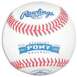 Rawlings Official Pony League Baseball