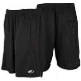Rawlings Poly Flatback Mesh Short - Men's