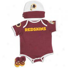 Reebok Infants Nfl 3 Pc Tm Bodysuit,boot