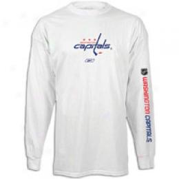 Reebok Men's Nhl Left Wing L/s Tee