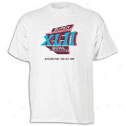 Reebok Men's Superbowl Xlii Official Logo Tee