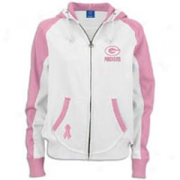 Reebok Women's Nfl Womens Pink Ribbon Hoody