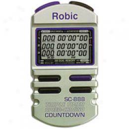 Robic Men's Sc-888 Triple Timer
