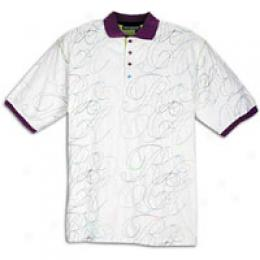 Rocawear Men's Day-glo Polo