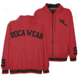 Rocawear Men's L/s Campus Full Zip Hoody