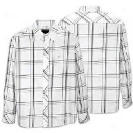 Rocawear Men's L/s Gizmo Plaid Woven