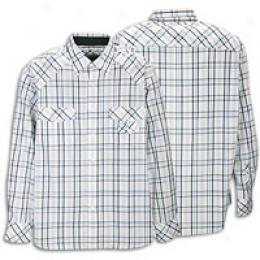 Rocawear Men's L/s Look Out Plaid Woven