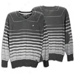 Rocawewr Men's L/s Medical Stripe V-neck Sweater