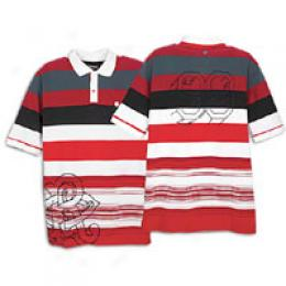Rocawear Men's Math Stripe Polo
