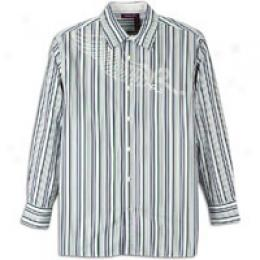 Rocawear Men's Private Stripe Long Sleeve Shirt