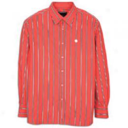 Rocawear Men's Stripe Woven Shirt
