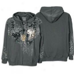 Southpole Men's Altogether Over Print Full Zip