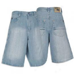 Southpole Men's Core Denim 5 Pocket Short