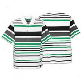Southpole Men's Crosshatch Polo