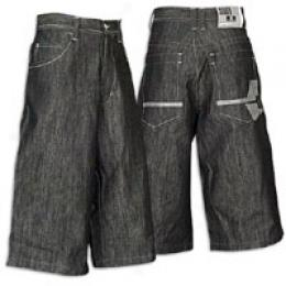 Southpole Men's Crossroads Premium Denim Short