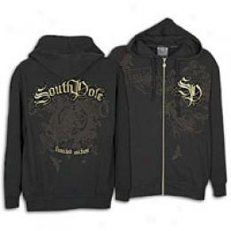 Soythpole Men's Flock & Foil W/ Studs Light Fleece
