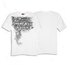 Southpole Men's Glitter Metal W/ Puff Print Tee