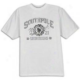Southpole Men's High Density Print Twe
